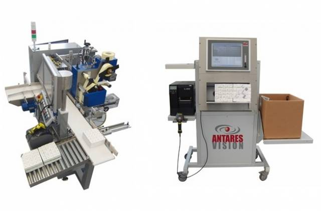 aggregation for serialisation regulation bundling and case packing machines from antares vision
