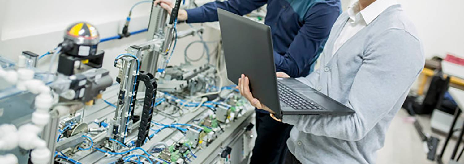 Crest Solutions Cork ireland embedded engineer in a factory