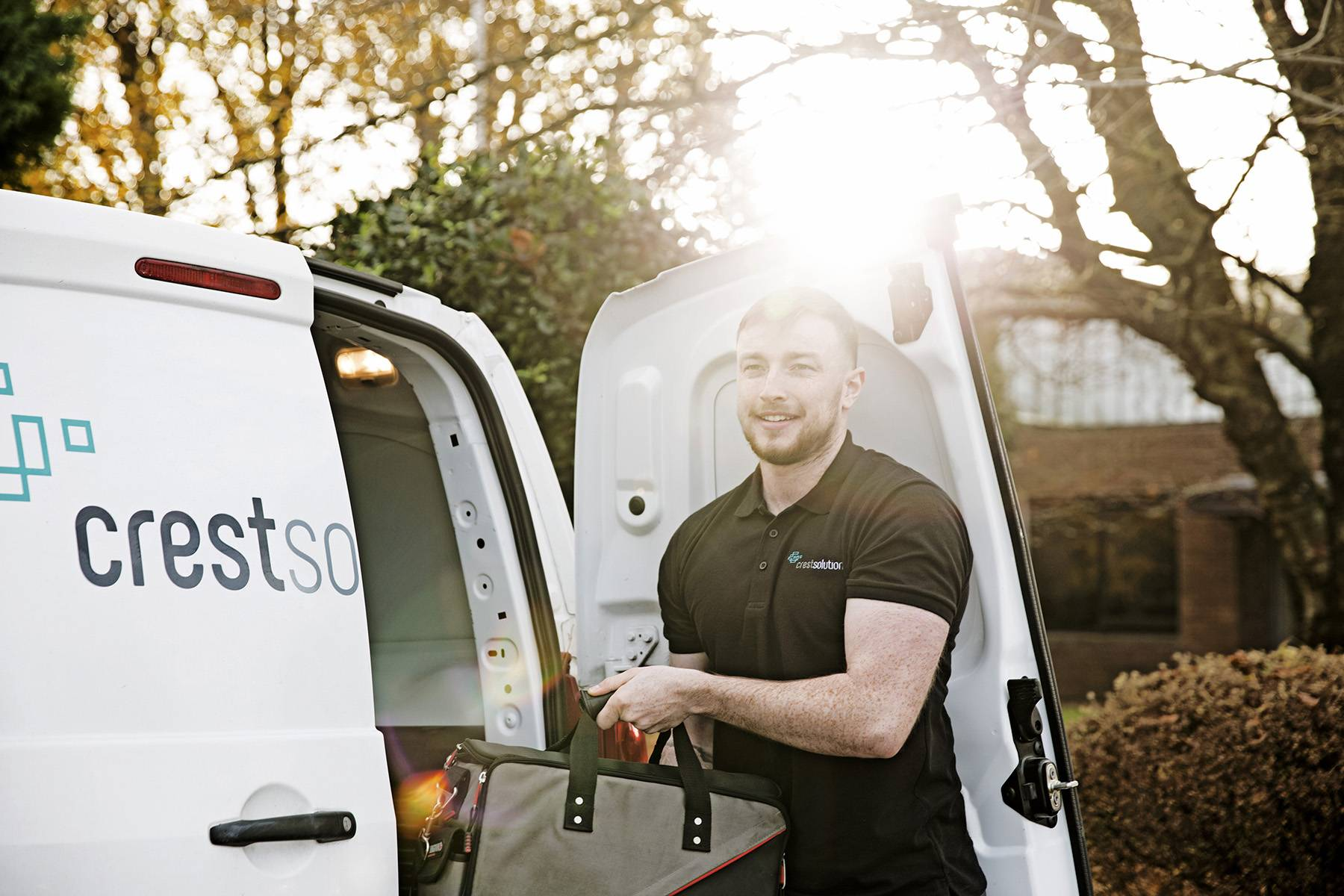 industries Crest Solutions Ireland Crest Solutions UK work with