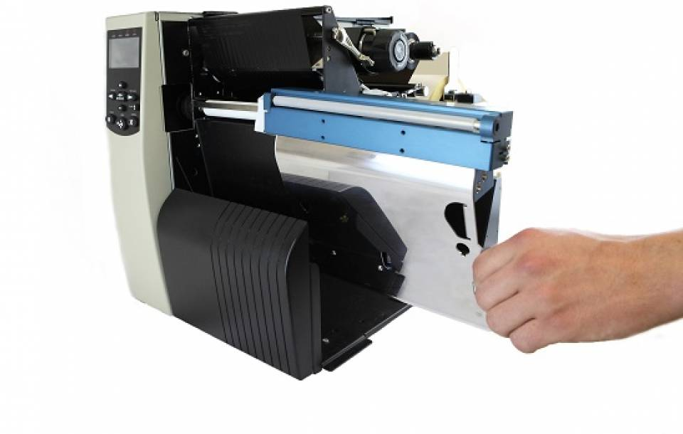 Seamless integration on industrial printers